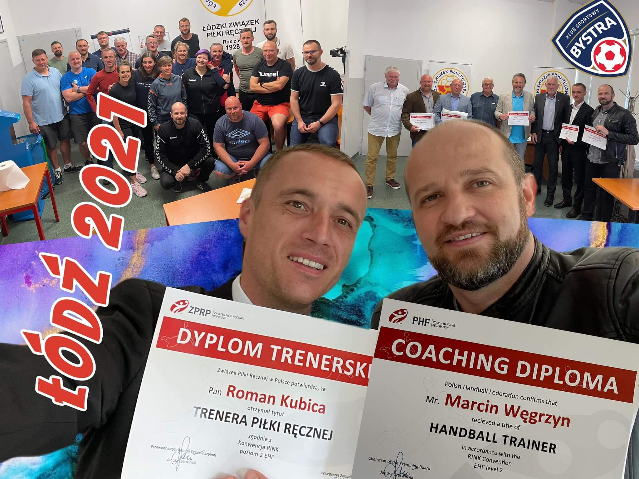 Nasi trenerzy z licencjami EHF 2 stopnia